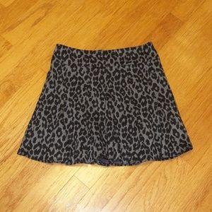 Ann Taylor women's size 8 leopard print skirt